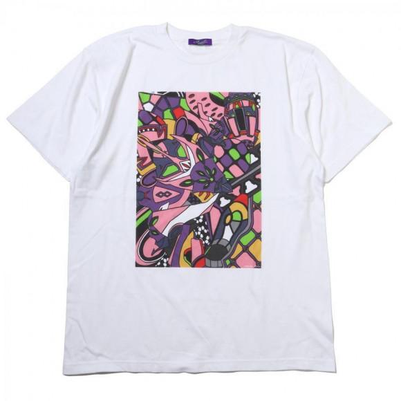 EVA Abstract Art T-Shirt β (8号機)【1月下旬お届け】