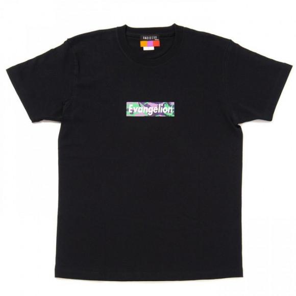 EVANGELION BOX LOGO T-Shirt (EVA-01(BLACK))