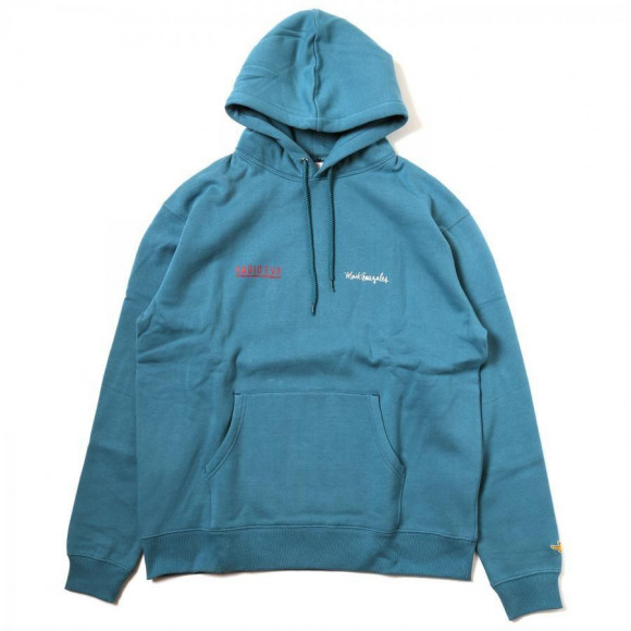 Kaworu Pt. HOODIE by MARK GONZALES (EMERALD) [the beginning of October delivery]