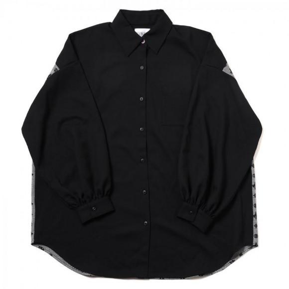 Check on EVA Monogram Shirt (BLACK)【11月下旬お届け】