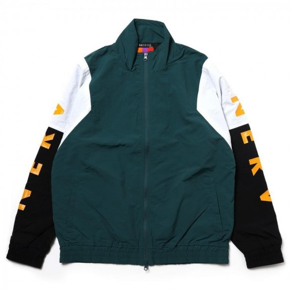 EVANGELION SWITCHING NYLON JACKET (GREEN X BLACK X WHIT(02)) [the end of May delivery]