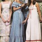 1970's GUNNY SAX Dress