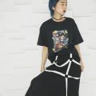 Shunga T-shirt black