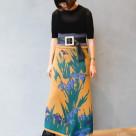 カキツバタ ラップスカート