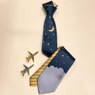 Giraffe airline/ night sky