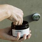 L: A BRUKET star item ★135 sea salt scrub marjoram/eucalyptuses