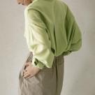 ポケットデザインロングシャツ