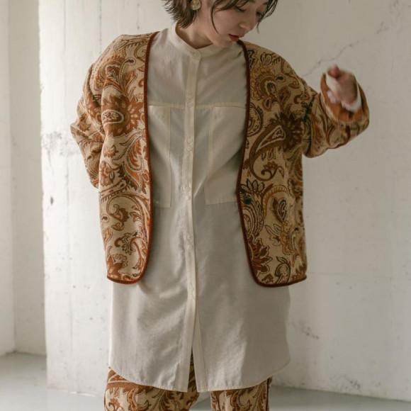 페이즐리 고블랭 재킷