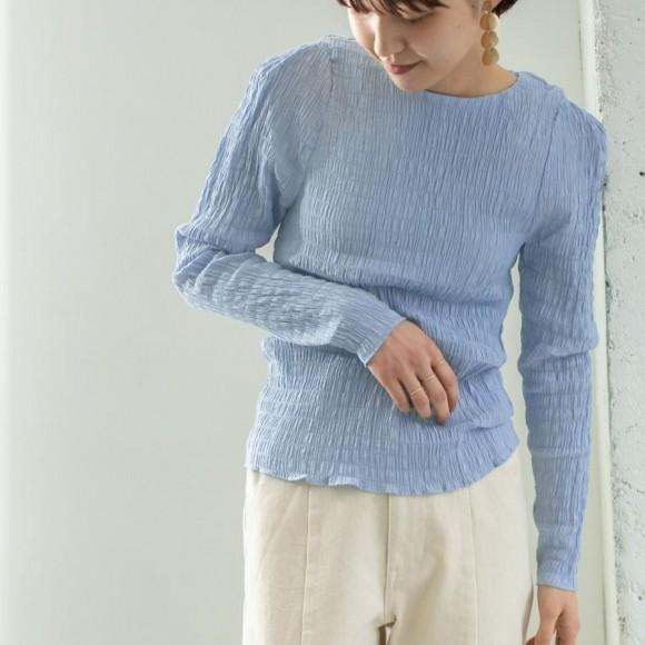 KBF shirring blouse