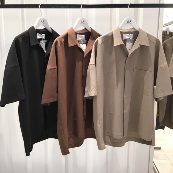 [URBAN RESEARCH iD] Linen like overshirt