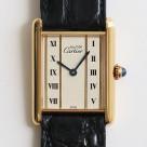 [used goods] CARTIER Cartier must de CARTIER TANK mast tank LM watch antique