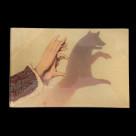 JOHN DERIAN デコパージュプレートFox Shadow Puppet