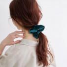 【MARZOLINE MILANO  (マルツォリーネ ミラノ) 】Velvet Sccumchie No Bow