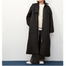 【GANNI / ガニー】Recycled Ripstop Quilt COAT