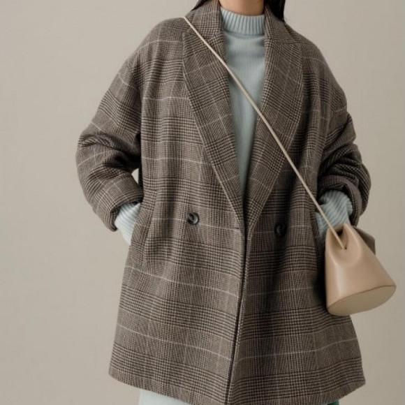 テーラードジャケットコート