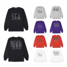 WIND AND SEA / SEA (wavy) L/S T-SHIRT