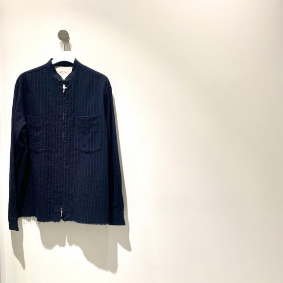 MASU / ZIP-UP WOOL SHIRT