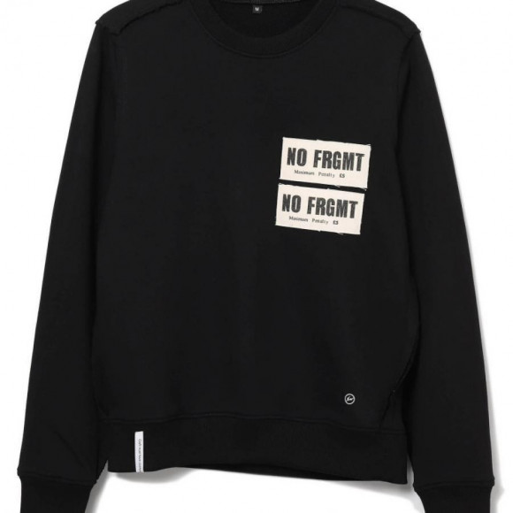 AKA SIX X fragment design/NO FRGMT PATCH SWEAT