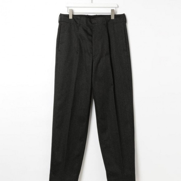 [AURALEE] EX WASHED FINX POLYESTER CHINO TAPERED PT