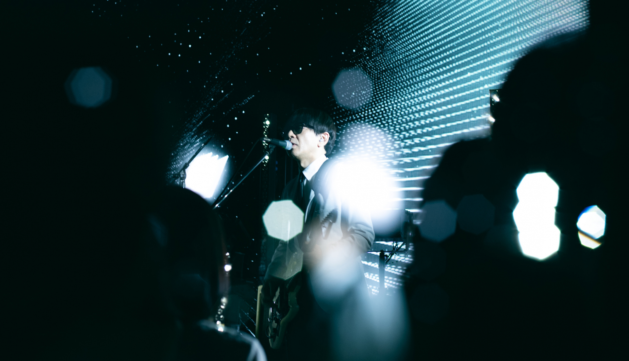 """CORNELIUS live show case""SHIBUYA PARCO sound check 1.2""secret live photo公开"""