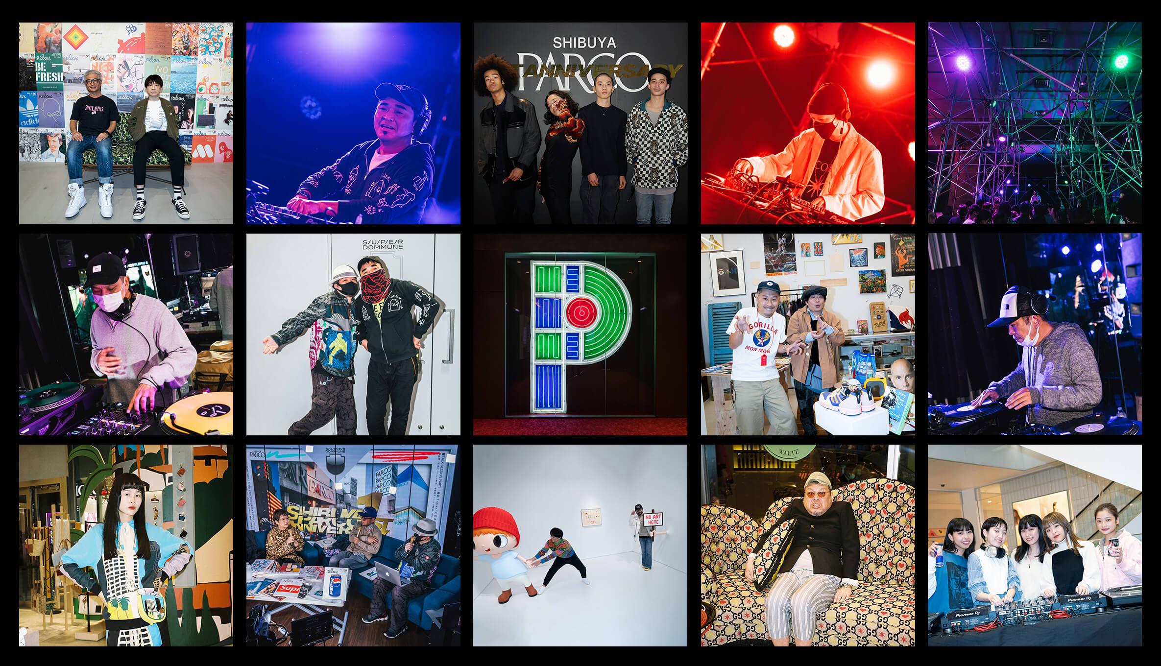 SHIBUYA PARCO 1st ANNIVERSARY|豪華ゲストが集う夜。SNAP&ライブレポート