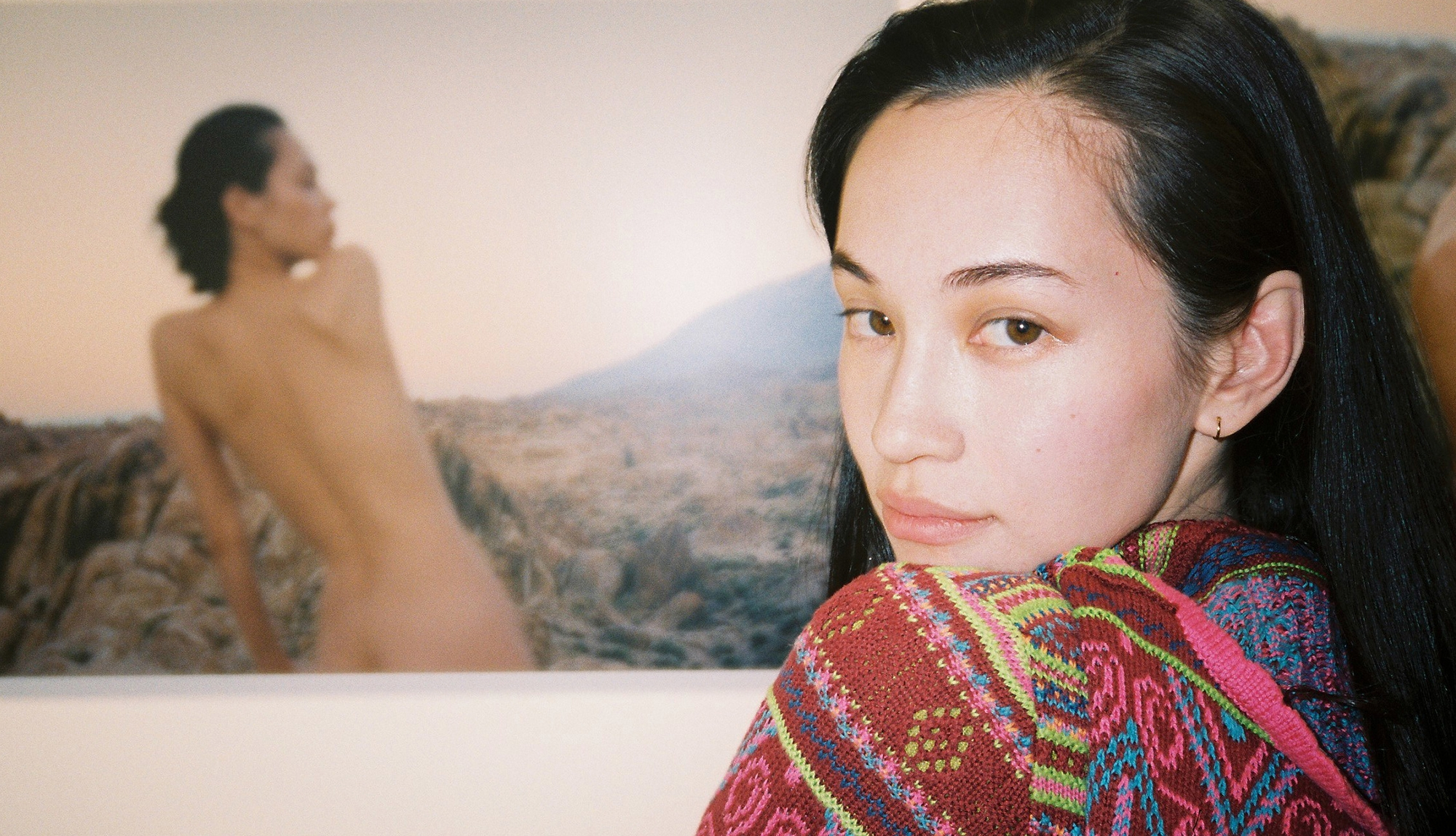 """Interview Kiko Mizuhara & Motegi Monica   Photo exhibition """"in a series of Dream Blue of dream"""""""