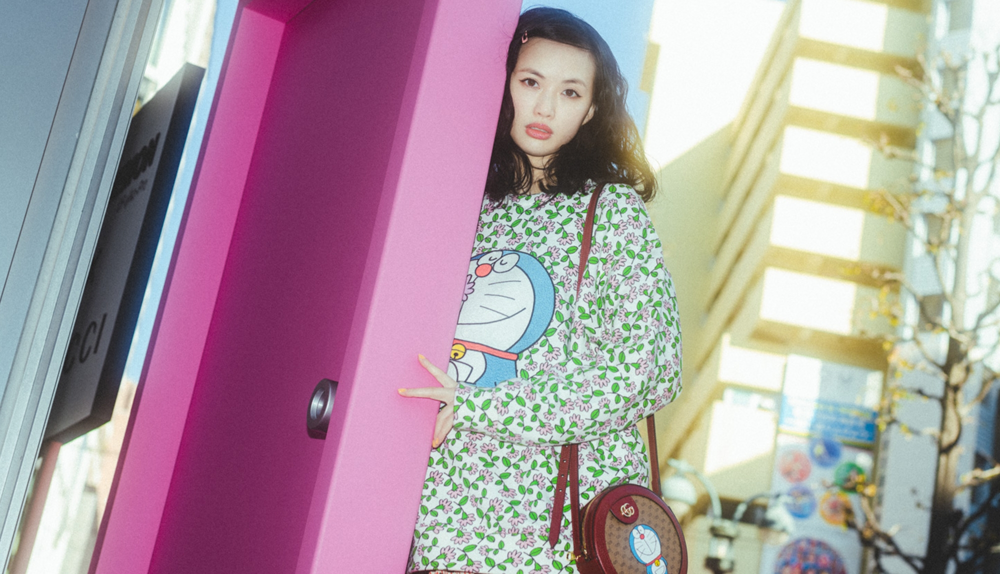Asami Usuda X GUCCI | New world across the space-time where GUCCI charms