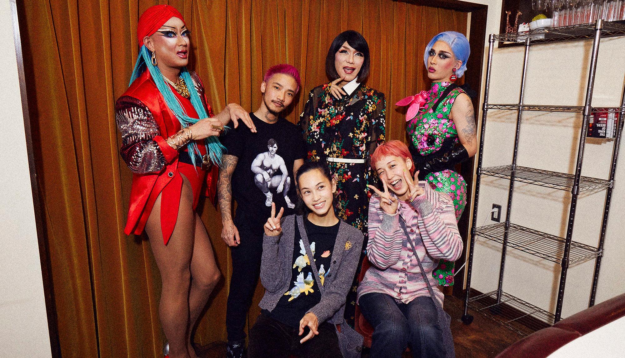 Kiko Mizuhara, Yuka Mizuhara X Campy!bar | Welcome ardent as for anyone! Time that is happy in woman's disguise bar from Shinjuku 2
