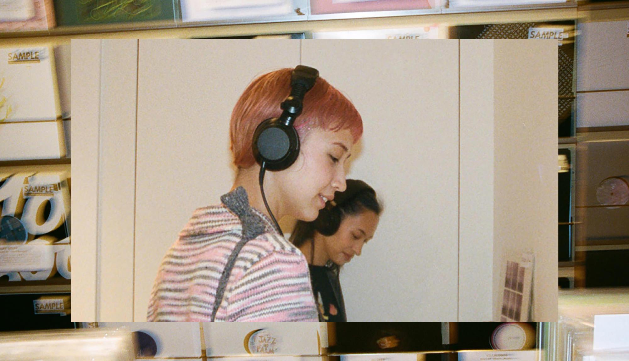 Kiko Mizuhara, Yuka Mizuhara X TECHNIQUE   We dig record and listen and enjoy music with going to heart