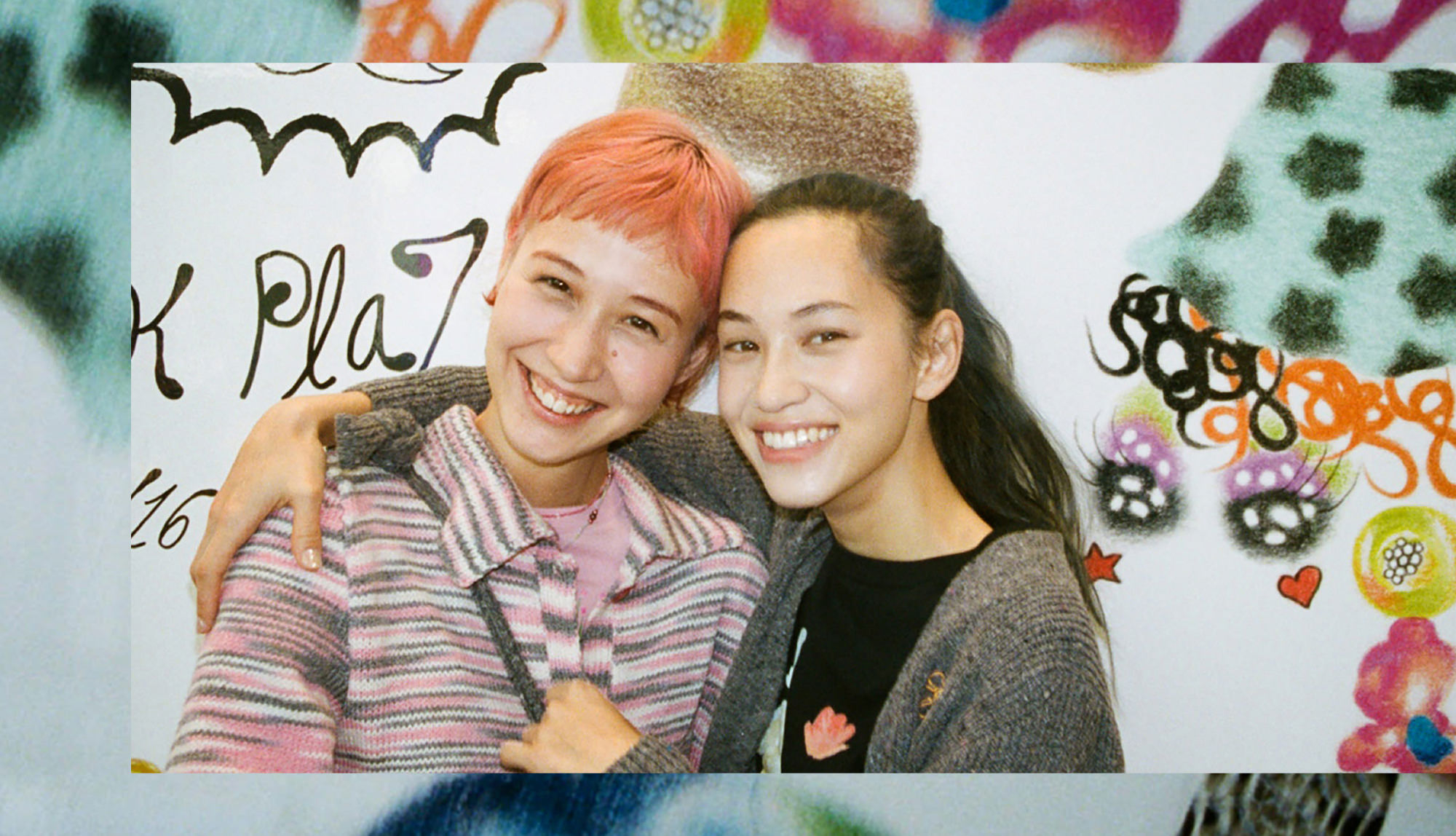 Kiko Mizuhara, Yuka Mizuhara X OK PLAZA/beautiful people/ sustainable store   Shop hops in pursuit of fashion which can continue