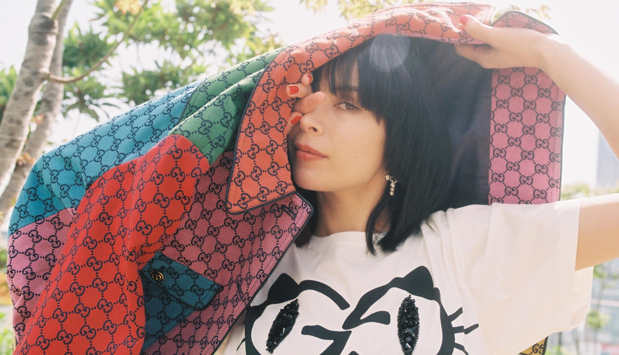 """Mary Sara X GUCCI 