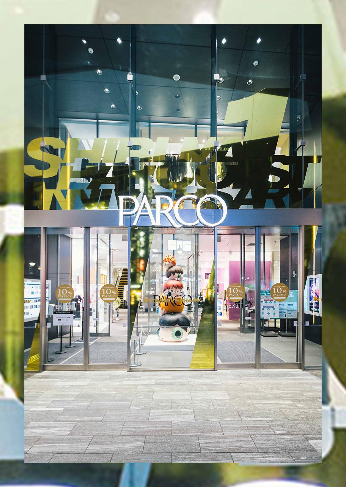 SHIBUYA PARCO 1st ANNIVERSARY|一周年を記念した限定品が集結。一夜限りのインスタレーションも