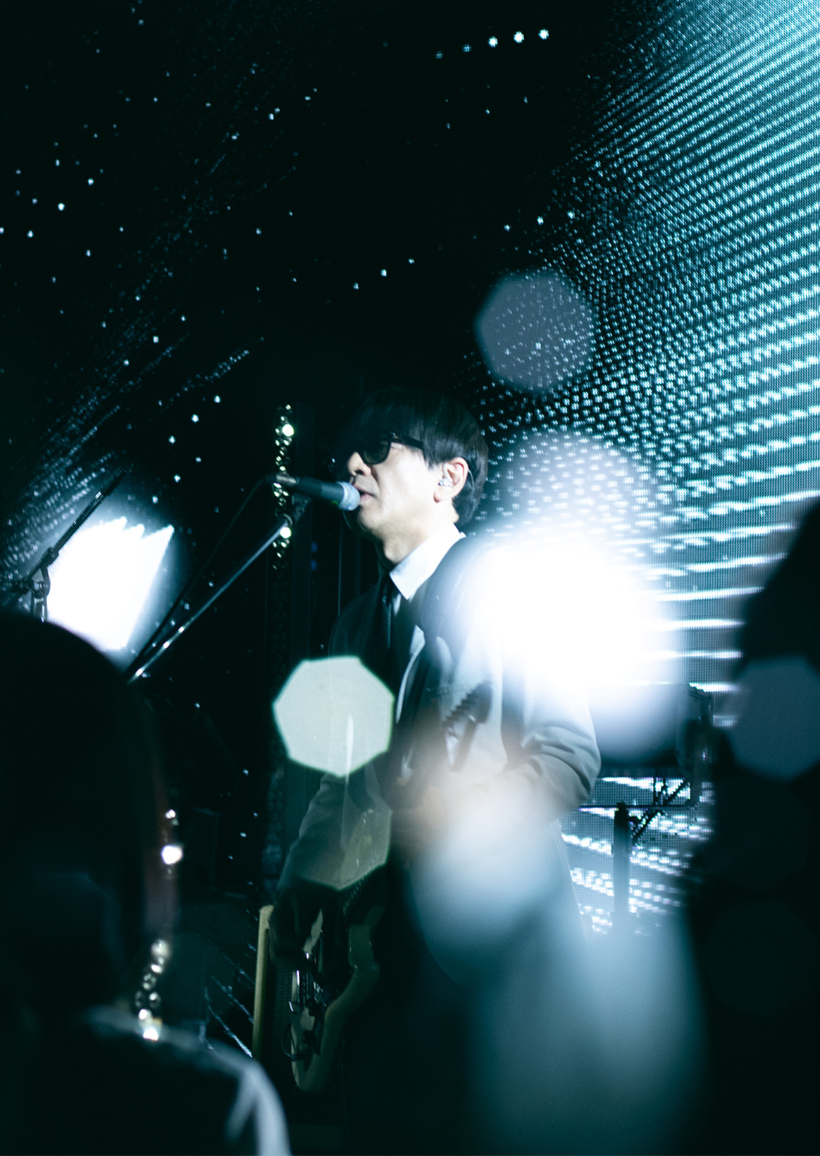"""CORNELIUS live show case ""SHIBUYA PARCO sound check 1.2"" secret live photo exhibition"