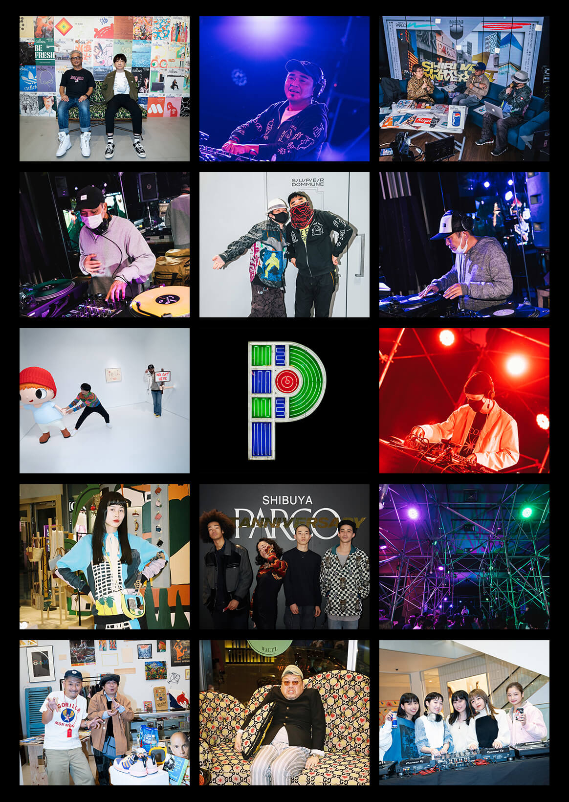 SHIBUYA PARCO 1st ANNIVERSARY | Night when luxurious guests gather. SNAP & live report