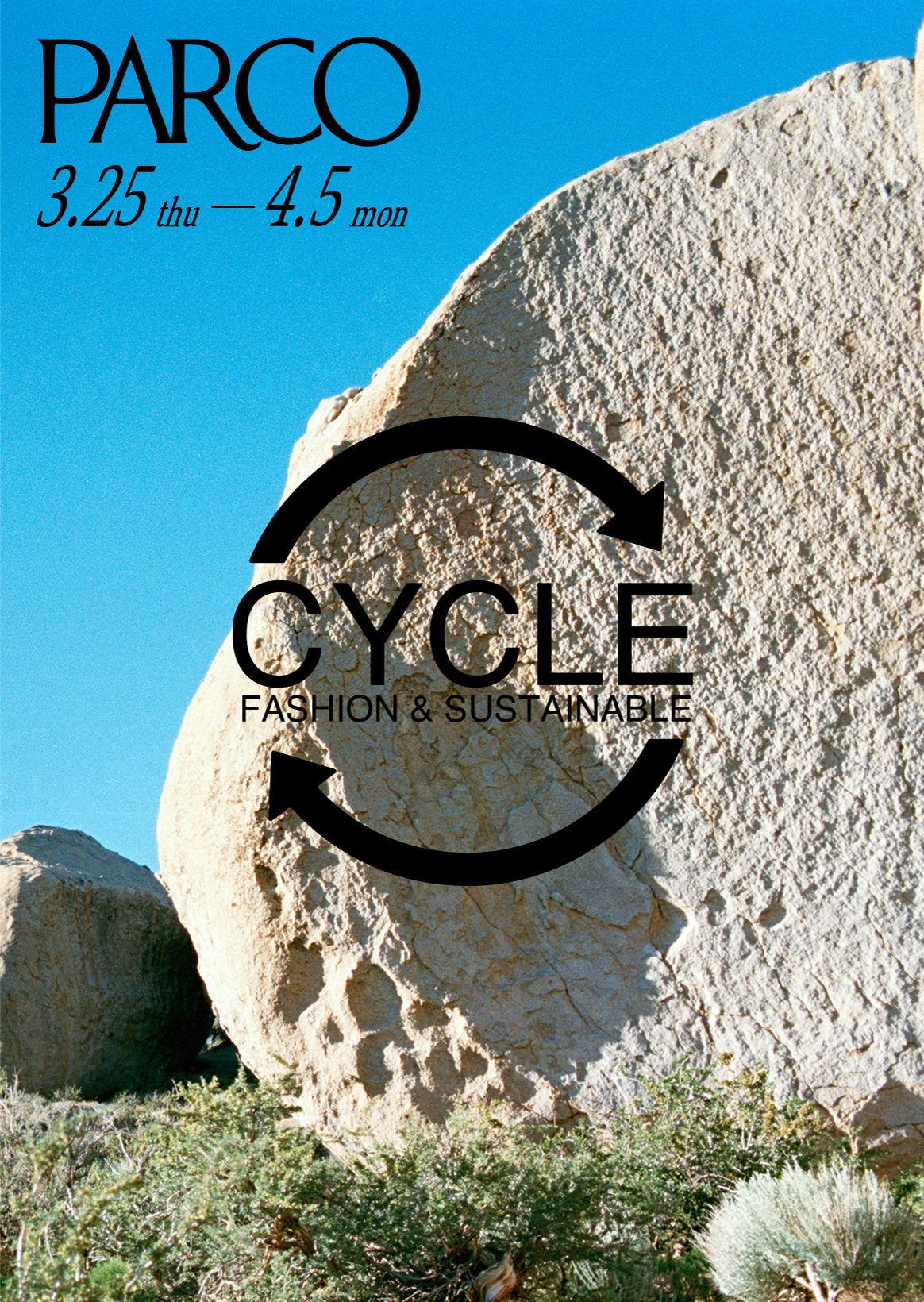 "SUSTAINABLE FASHION CAMPAIGN ""CYCLE"" 