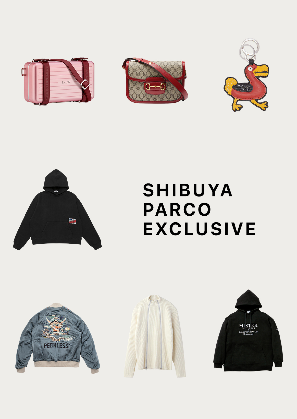Shibuya PARCO limited sale & precedence release item | SHIBUYA PARCO EXCLUSIVE