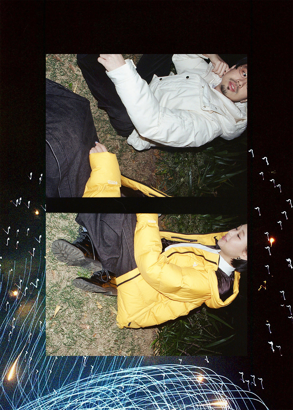 How to walk Shibuya PARCO | to enjoy by Hama OKAMOTO INDUSTRIES (OKAMOTO'S) & miu couple Living with a feeling of THE NORTH FACE LAB/FAN/H.P.DECO art