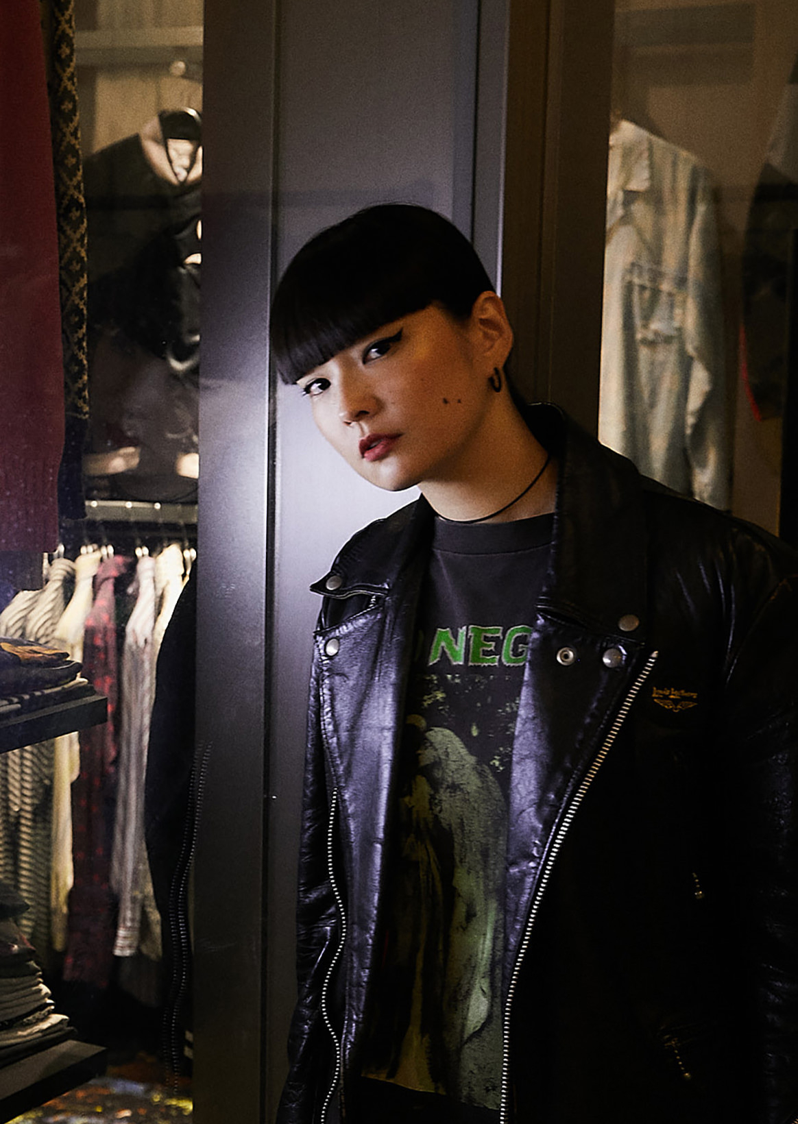 Kozue Akimoto X Berberjin | Selected band T-shirts with well-known store of vintage shop