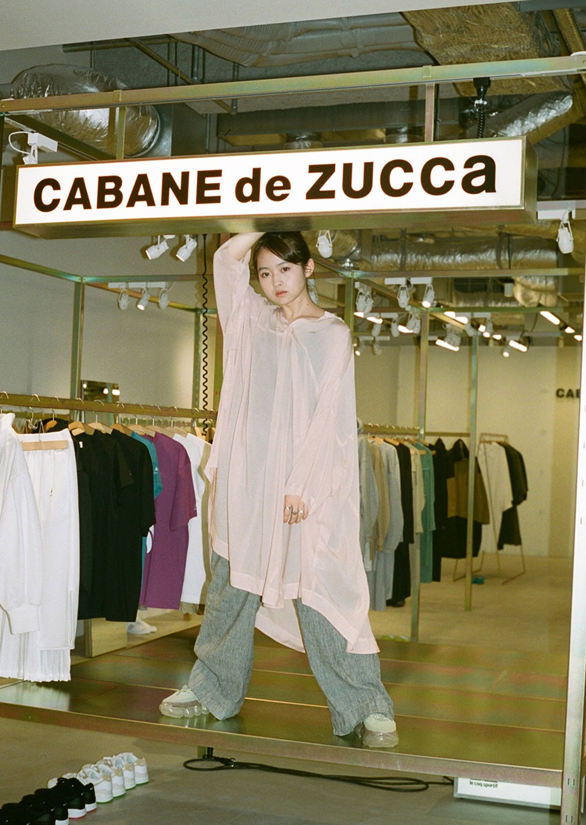 Banri Ito bloom X CABANE de ZUCCa/k3 | Stylish yet practical clothes which reflected free individuality and sustainable mind.
