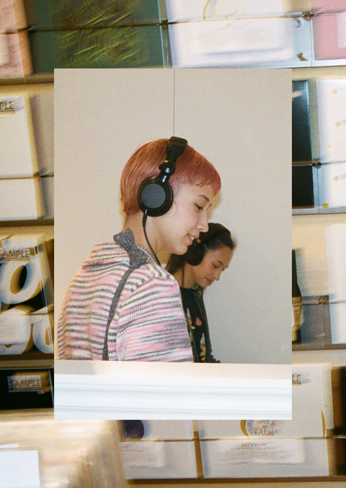 Kiko Mizuhara, Yuka Mizuhara X TECHNIQUE | We dig record and listen and enjoy music with going to heart
