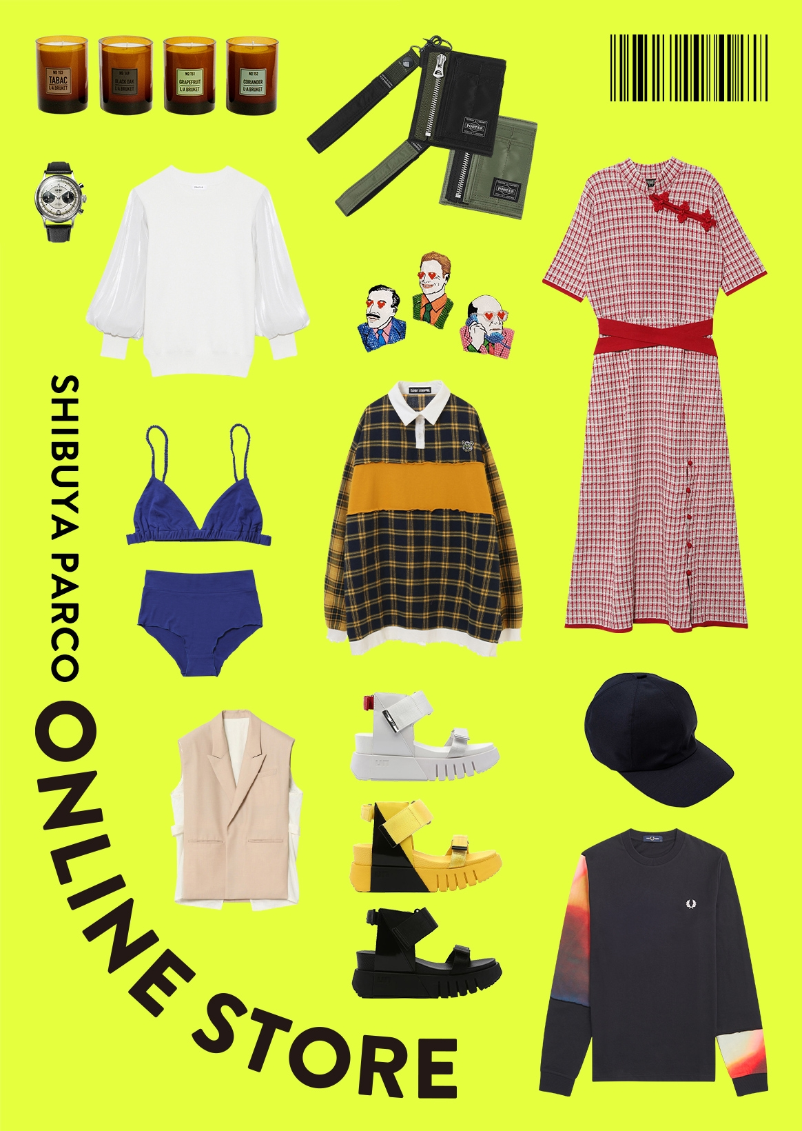 PARCO ONLINE STORE | Items of 21SS season are received one after another. Shopping of Shibuya PARCO to enjoy in house