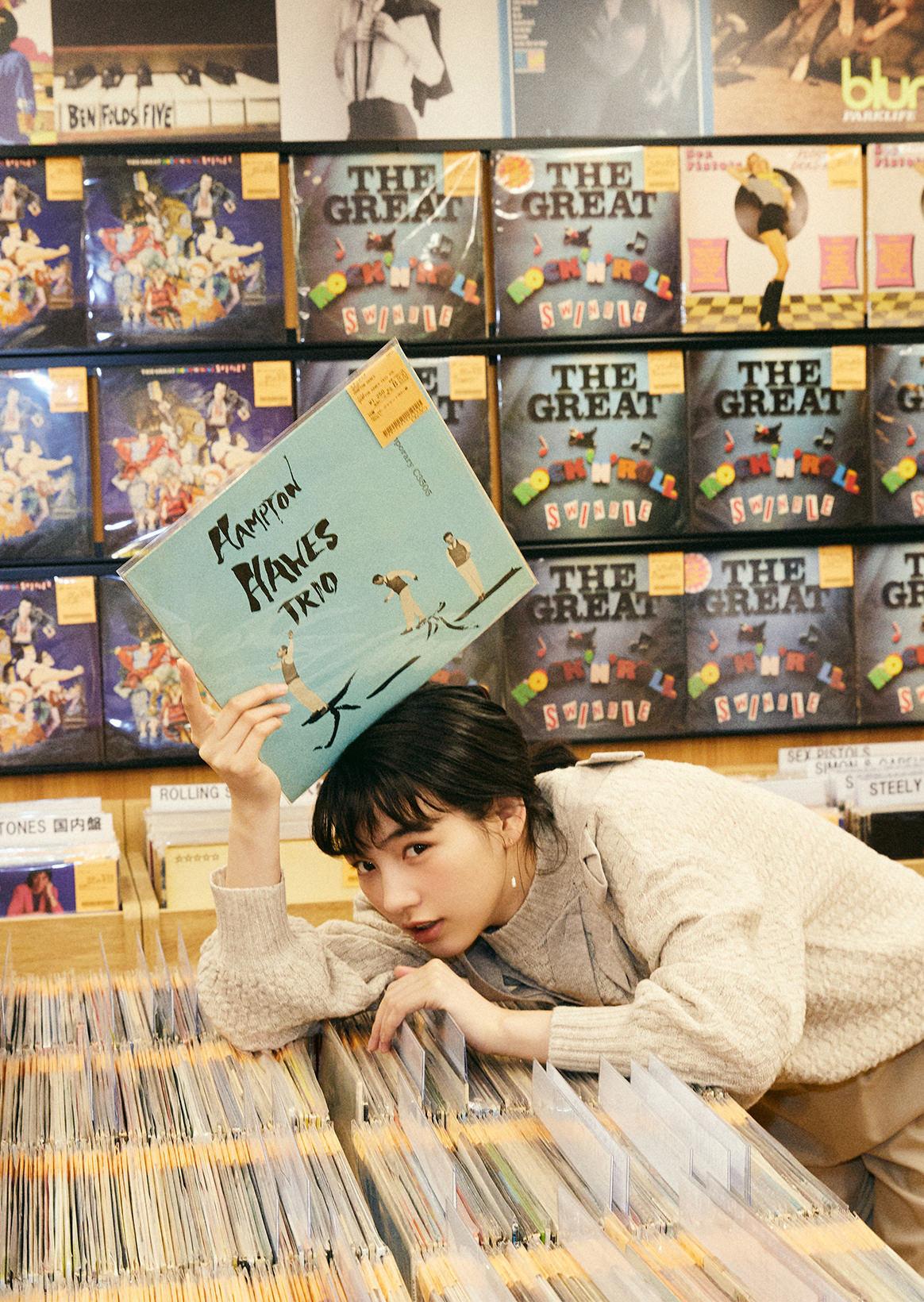 のん×ユニオンレコード渋谷|デジタル配信の時代だからこそ特別なアナログ盤の魅力。