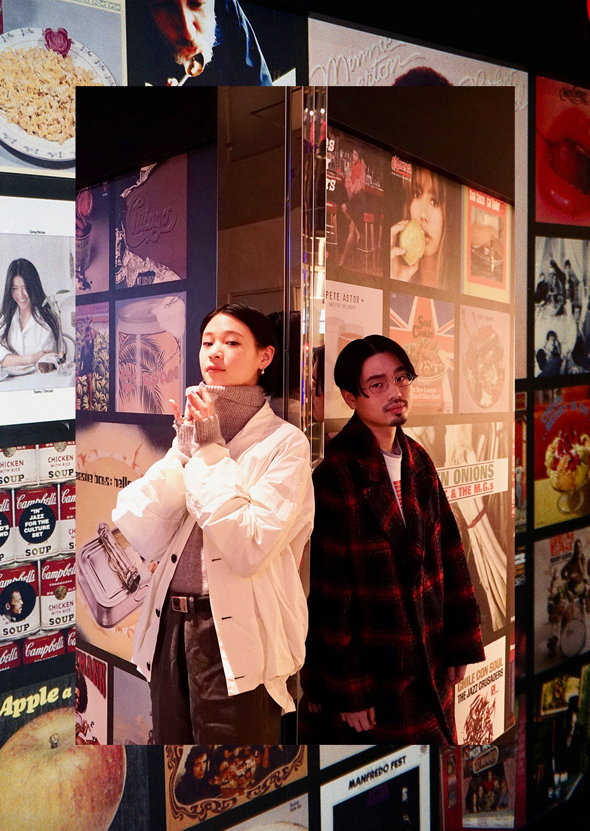 有哈马·冈本(OKAMOTO'S)&miu重要的人和渡过的音乐的时间|union record SHIBUYA/QUATTRO LABO
