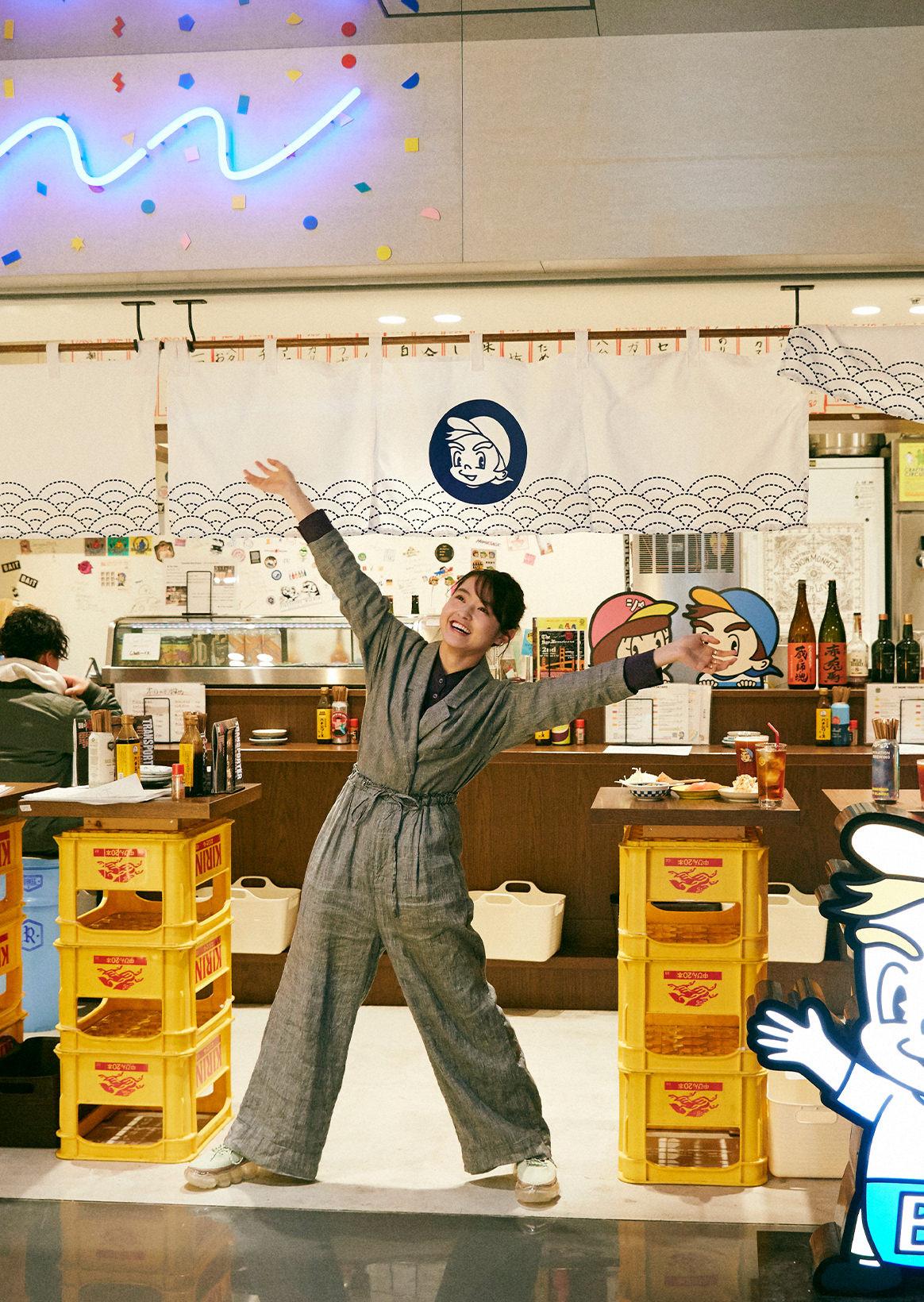 伊藤万理华×Tachinomi BEERBOY|在能够站着,喝的摩登大众酒馆,随便有许多。