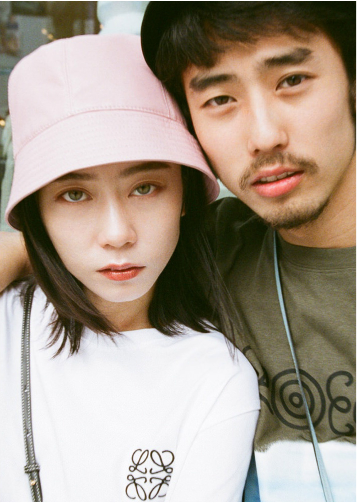 SUMIRE & HIMI SATO X LOEWE | GENDERless style to link in brothers.