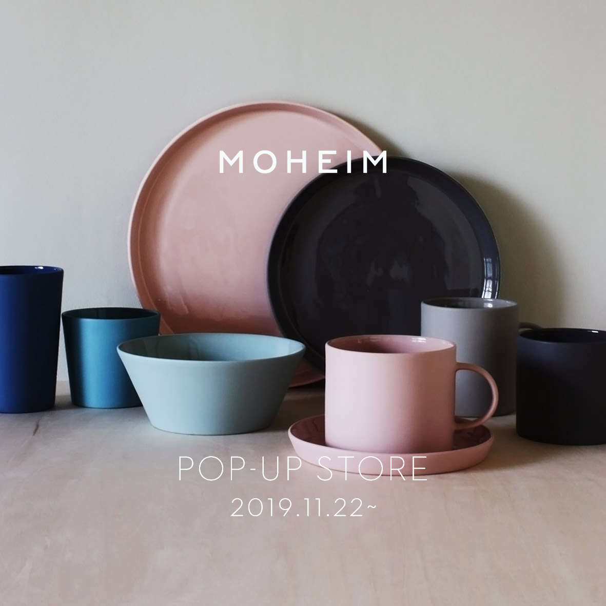 MOHEIM POP UP STORE