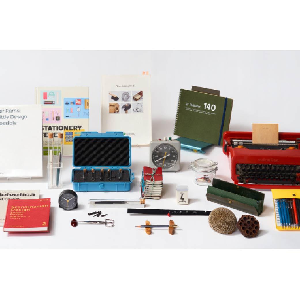 [rorubanshoppu&美术展览室]土桥正的用来舒服地工作的文具、工具展