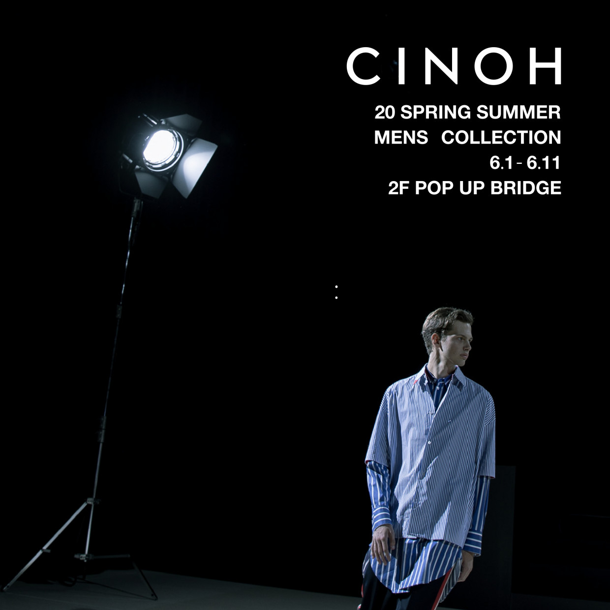 CINOH 20 SPRING SUMMER MENS COLLECTION