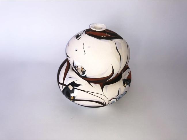 宮下サトシ、酒井智也、乙うたろう「仮想世代陶芸 Virtual generation pottery」展
