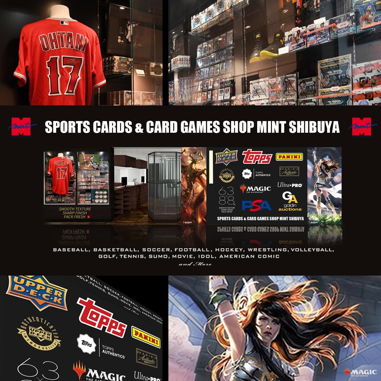 【NEW OPEN】スポーツカード&カードゲームショップ ミント